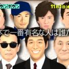 有名人知名度ランキングの1位は誰!?トップ100の結果!日本で一番はイチロー説【水曜日のダウンタウン】